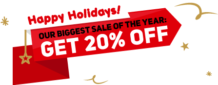 GET 20% off any monthly plan