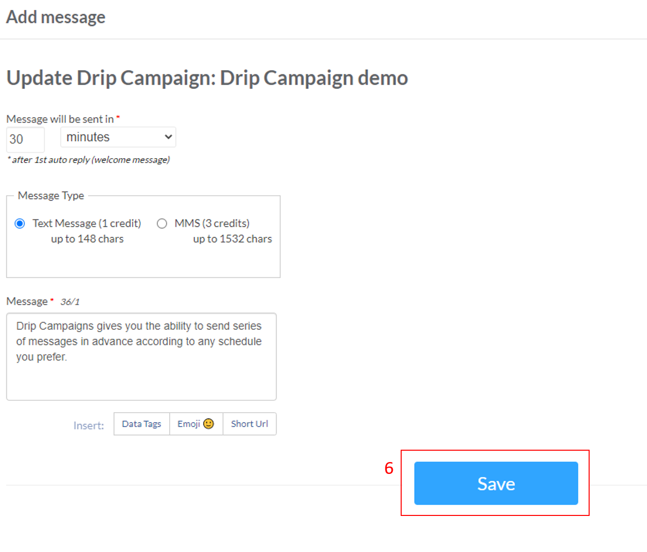sms drip campaign text-messaging