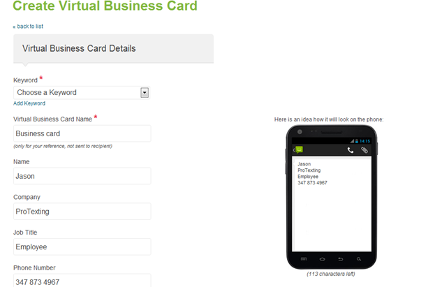 App virtual business card faqs by protexting 7 colourmoves